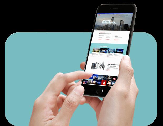 showcasing talener mobile